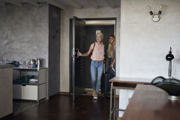 visite d'appartement par la bailleur